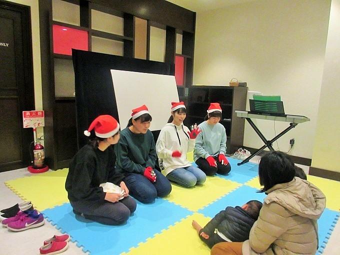 ベーカリー塾のクリスマス会