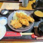 大津市役所前「とんかつ棹」でとんかつを食べてきました