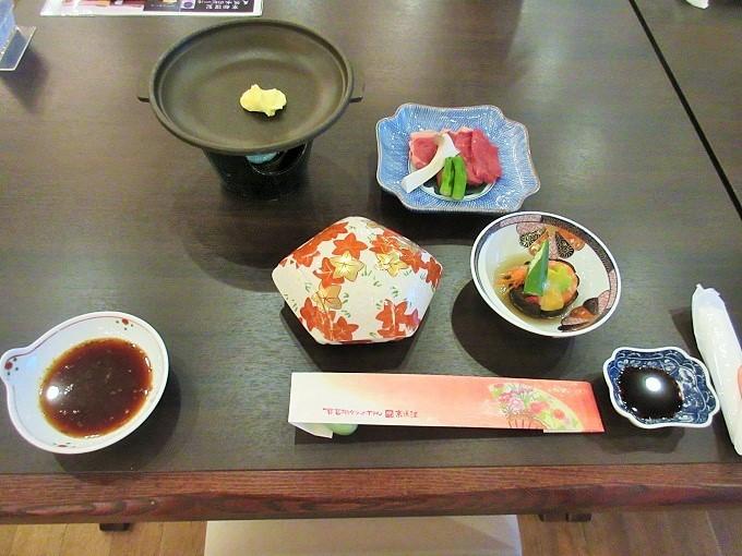 琵琶湖グランドホテルの夕食