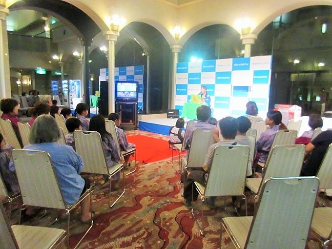 琵琶湖グランドホテルのちびっこ祭り