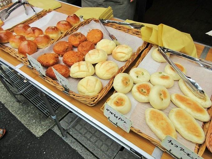 ベーカリーカノンの100円パン