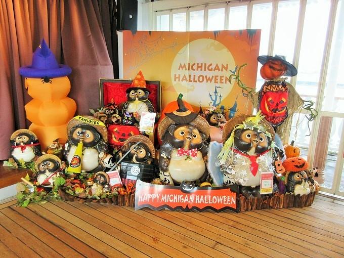 ミシガンのハロウィン装飾