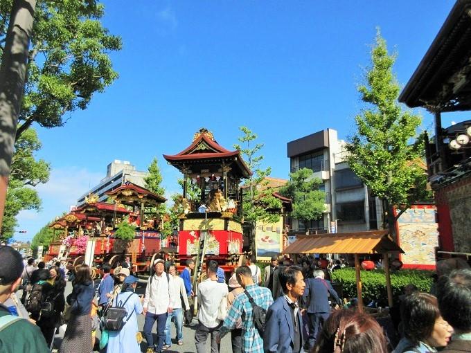 大津祭の中央大通り