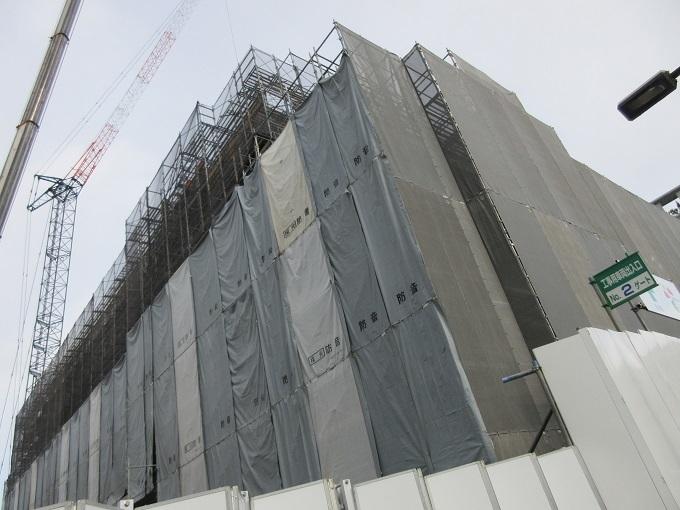 建設中のNHK大津20191227