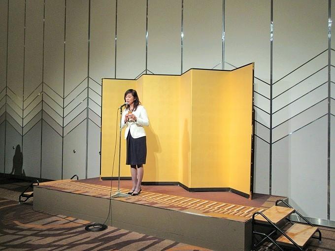 大津女性ビジネスコンテスト交流会の麻生社長