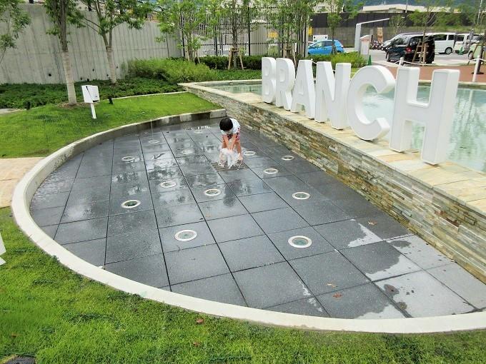 ブランチ大津京の噴水