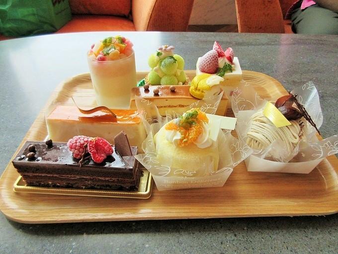 びわ湖大津プリンスホテルのケーキ