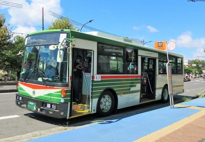 西武大津店へのバス
