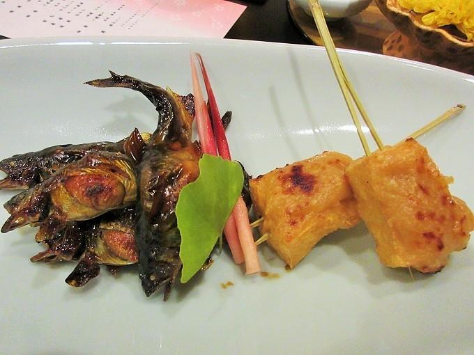 びわこ緑水亭の夕食