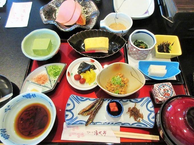 びわこ緑水亭の朝食