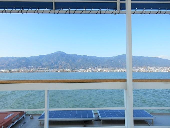 megumiから見た琵琶湖