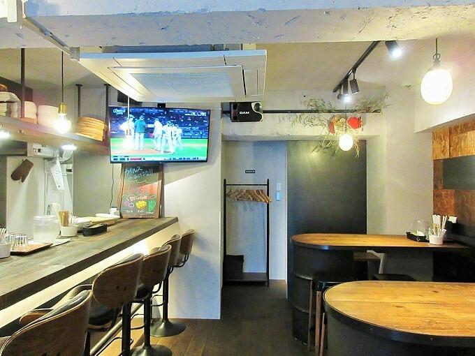 J-cafeの店内