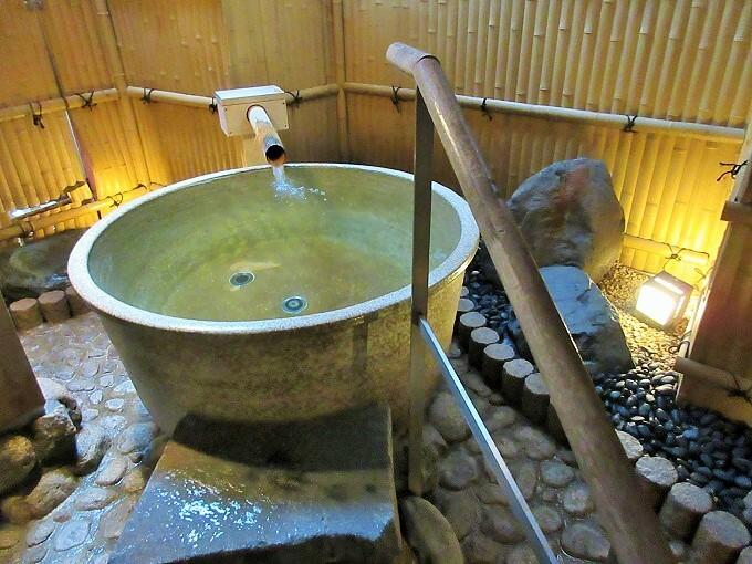 湯元舘の貸切風呂