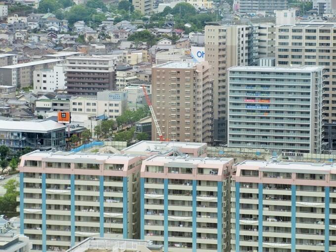 びわ湖大津プリンスホテル37階からの眺め